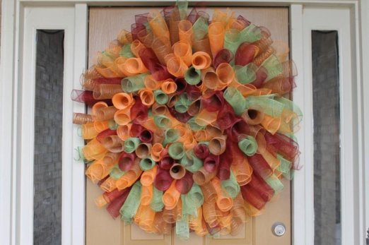 au naturel ugly wreath