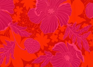 hot pink petula vintage wallpaper design your wall dot com