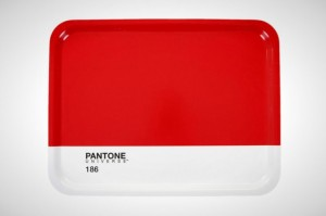 pantone red tray